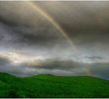 Rainbow Over the Mahoosucs by Wayne King