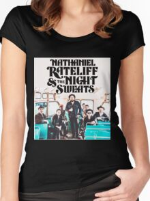 NATHANIEL RATELIFF AND THE NIGHT SWEATS Women's Fitted Scoop T-Shirt