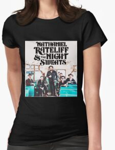 NATHANIEL RATELIFF AND THE NIGHT SWEATS Womens Fitted T-Shirt
