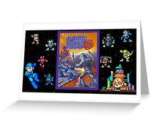 Mega Man 3 painting Greeting Card