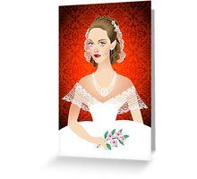 Jezebel Greeting Card