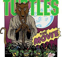 Ninja Turtles Retro First Movie 1990 Splinter by Arseniy Dubakov