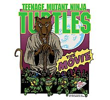 Ninja Turtles Retro First Movie 1990 Splinter Photographic Print