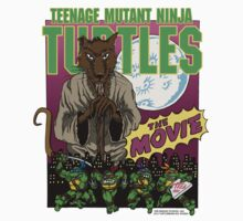 Ninja Turtles Retro First Movie 1990 Splinter One Piece - Short Sleeve