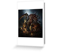 Darksiders War Greeting Card