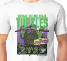 Ninja Turtles Retro First Movie 1990 Donatello Unisex T-Shirt