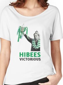 Hibs Scottish Cup Women's Relaxed Fit T-Shirt