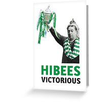 Hibs Scottish Cup Greeting Card