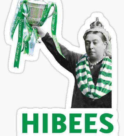 Hibs Scottish Cup Sticker