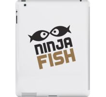 The Ninja Fish eyepad cover iPad Case/Skin