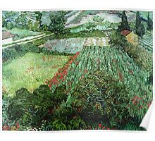 Vincent Van Gogh - Field With Poppies Poster