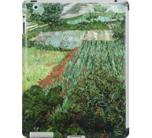 Vincent Van Gogh - Field With Poppies iPad Case/Skin