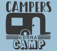 Campers gonna camp Kids Tee