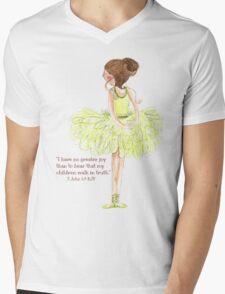 Greater Joy - Beatrice Ajayi Mens V-Neck T-Shirt