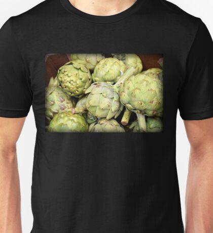 Artichokes - Green: v2 | Kitchen Art Unisex T-Shirt