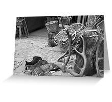 Sleeping cats Greeting Card