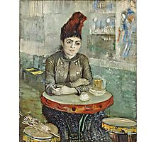 Vincent Van Gogh - In  Cafe Agostina Segatori In Le Tambourin, January 1887 - March 1887  Photographic Print