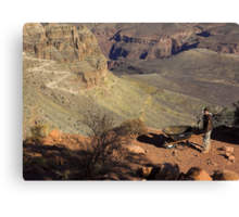 The Origin of the Grand Canyon Canvas Print