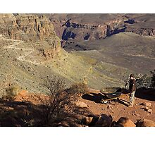 The Origin of the Grand Canyon Photographic Print