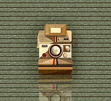 Polaroid ~ Wooden Polaroid Camera [Green] by vikaze