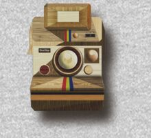 Polaroid ~ Wooden Polaroid Camera [Green] Kids Clothes