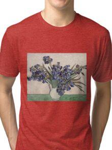 Vincent Van Gogh - Irises 2 Tri-blend T-Shirt