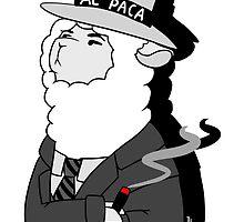 Al Capone Alpaca by anthrogeist