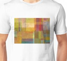 Color Collage with Green and Red Unisex T-Shirt