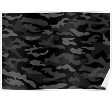 BLK CAMOUFLAGE Poster