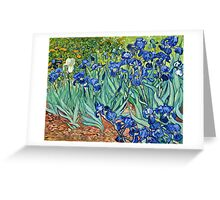 Vincent Van Gogh - Irises, 1889  Greeting Card