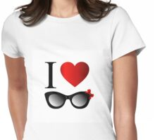 I love fashion Womens Fitted T-Shirt