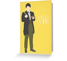 Doctor Who No. 2 Patrick Troughton - poster & stickers Greeting Card