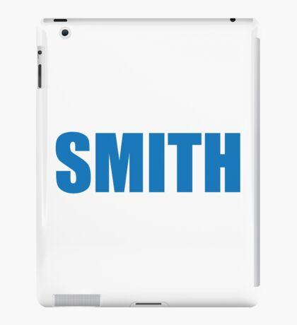 Smith (Blue) iPad Case/Skin