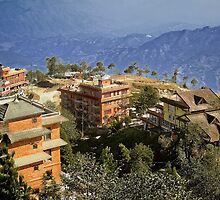 View from Nagarkot by V1mage