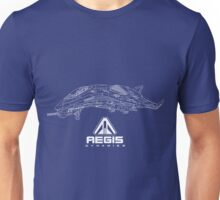 Aegis Avenger Star Citizen Blueprint Illustration Unisex T-Shirt