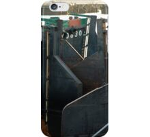 Barges in the morning light iPhone Case/Skin