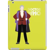 Doctor Who No. 3 Jon Pertwee - T-shirt iPad Case/Skin