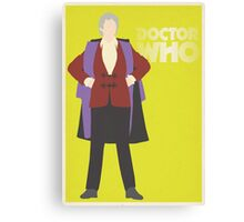 Doctor Who No. 3 Jon Pertwee - Poster & stickers Canvas Print