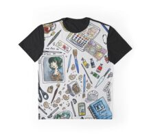 Arlie Opal's Art Supplies Painting Graphic T-Shirt