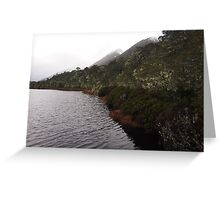 South Island New Zealand Greeting Card