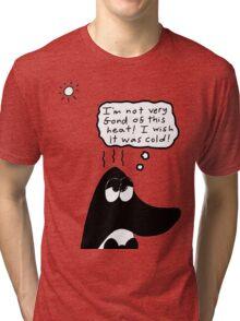 Beau and the heatwave Tri-blend T-Shirt