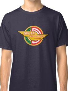Ducati Vintage Motorcycles Italy Classic T-Shirt
