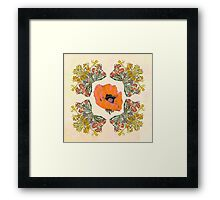 The Universal language of flowers  Framed Print