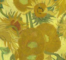Vincent Van Gogh - Sunflowers 1989 Sticker