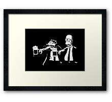 Pulp Simpson Framed Print