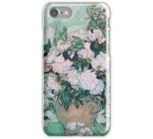 Vincent Van Gogh - Vase With Roses, 1890 02 iPhone Case/Skin