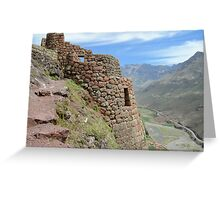 Where Condors Fly Greeting Card