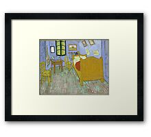 Vincent Van Gogh - Vincents Bedroom In Arles, 1889 Framed Print