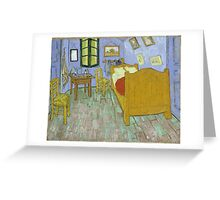 Vincent Van Gogh - Vincents Bedroom In Arles, 1889 Greeting Card