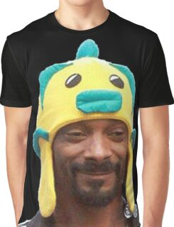 Snoop Doggy Dog Hat Graphic T-Shirt